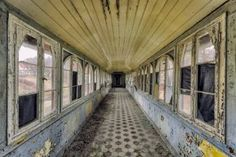 abandoned corridor in hospital. on Hahnemühle Photo Rag 308g signed, numbered and with 3cm white border.  i sell this print in another…
