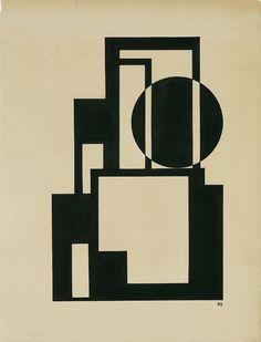 Bildarchitektur - Lajos Kassák (1887 - 1967)
