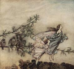 Arthur Rackham's Fairy Art