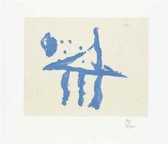 Robert Motherwell, Summer Trident on ArtStack #robert-motherwell #art