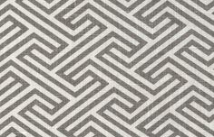 // tonicliving.com linen geo maze in ash for danish chair reupholstery.