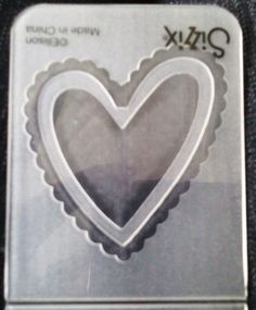 Sizzix DIE Cutter /& Estampador palabra amor se adapta a Big Shot Cuttlebug