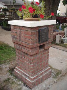 brick mailbox designs   Leonard & Alice Grimsley Web Site - Grimsleys.com