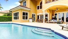 Pool and spacious patio. #StellarLifePoolside