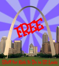 365 Free things to do in St. Louis...with your kids. My new blog challenge!