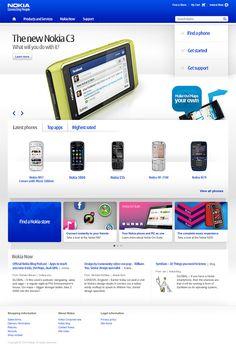 Nokia : Redesign - marc lassoff : art director