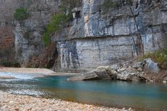Buffalo River in Jasper Arkansas