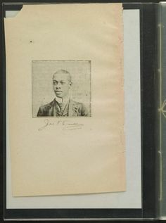 , From the African American Perspectives Collection in the Rare Book and Special Collections Division at the Library of Congress. African American Poets, African American Genealogy, James Thomas, Frederick Douglass, Library Of Congress, Black History, Memphis, Division, Birth