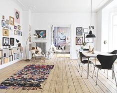 Recycled Frederiksberg apartment - via Coco Lapine Design