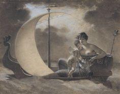 Mallet, Jean-Baptiste (b,1759)- La Folie L'égare (Folly Adrift)