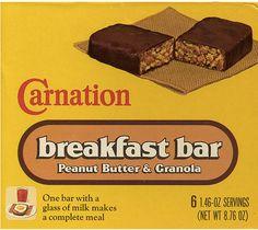 Carnation Peanut Butter & Granola Breakfast Bar