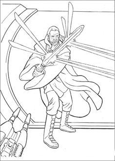 Disegni da colorare Star Wars 19