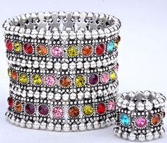 Love this bracelet/ring cuff
