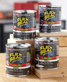 Flex Seal Liquid Rubber Sealant is a must-have for the handyperson or DIYer in your life. Brush it, roll it, dip it or pour it anywhere you need a watertight, flexible rubberized coating. It blocks out air, water and moisture, prevents rust and corrosion