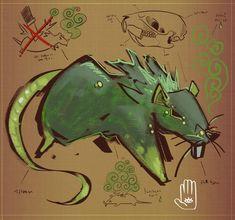 Feculent Rat by MisterFeelgood on DeviantArt I Feel Stupid, Feeling Stupid, Make A Video Game, Poisonous Mushrooms, Shovel Knight, Drawing Tools, Rats, Creatures, Deviantart