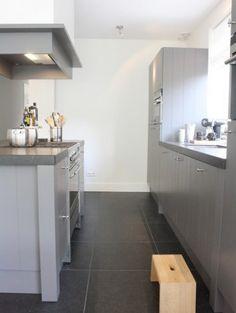 Of toch een grijze keuken?