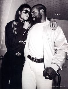 Michael Jackson & Mr. T [Laurence Tureaud]