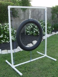 Dog Agility Tire Jump Made from Superior Grade by DogAgilityStore