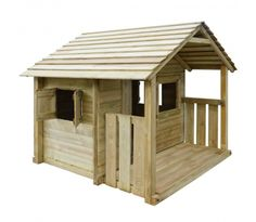 fatmoose spielhaus hippohouse heavy xxl kinderspielhaus garten spielger t holz mit holzdach. Black Bedroom Furniture Sets. Home Design Ideas
