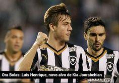 BotafogoDePrimeira: Luis Henrique, novo alvo de Kia Joorabchian
