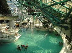 Caldea Thermal spa - largest in Europe