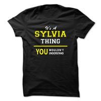 Its A SYLVIA thing, you wouldnt understand !!