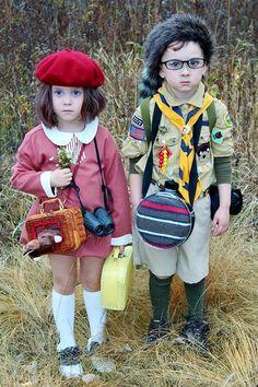 ¿O qué tal las versiones miniaturas de estos enamorados?   14 Disfraces de Halloween inspirados en las películas de Wes Anderson