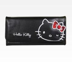 Hello Kitty Long Wallet: Tartan