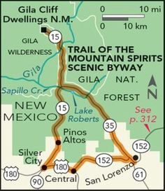 Trail of the Mountain Spirits Scenic Byway Road Trip — National Geographic – Best Motorcycles New Mexico Road Trip, Travel New Mexico, Mexico Vacation, Vacation Destinations, Vacation Spots, Vacation Ideas, Dream Vacations, Places To Travel, Places To See