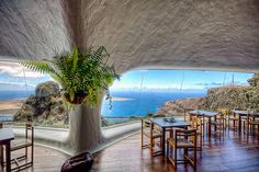 Panoramic views at the Mirador del Rio - could Cesar Manrique have picked a better brunch spot?