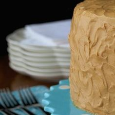 """Best Caramel Cake Recipe - Moist, tender, fabulous cake with a """"to die for"""" icing! Caramel Cake Icing, Carmel Icing, Carmel Cake, Vanilla Cake, Homemade Vanilla, Almond Cakes, Pound Cake, Eat Cake, Cake Recipes"""