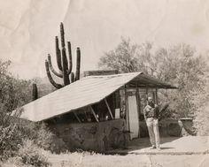 Taliesin West student shelter