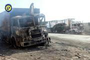 Angriff auf einen Konvoi mit Hilfsgütern bei Aleppo: Niemand will es gewesen…