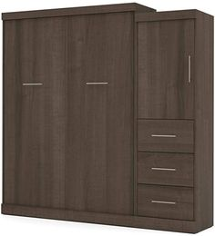 Amazon.com: Bestar: Murphy Beds Queen Murphy Bed, Murphy Beds, Murphy Bed Office, Molding Ceiling, Folded Up, Filing Cabinet, Tall Cabinet Storage, Amazon, Wall