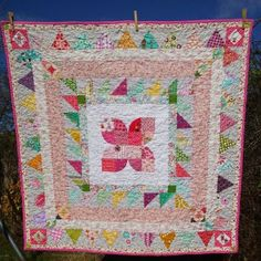 FairyFace Designs: Butterfly Medallion Quilt