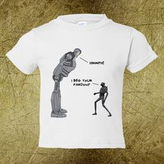 Movie Robots Toddler Tee,Creative tshirt,snarky tees,ironic tees,nerd chic,hip toddler clothes,cheap toddler clothes,droids,robots,animation