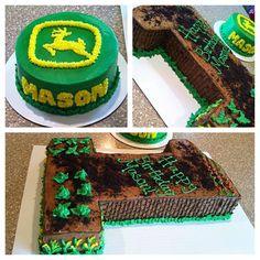 John Deer Birthday Cake, Baby, Smash Cake, Farm
