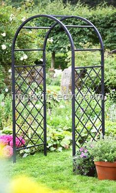 Green Metal Outdoor Garden Arch (MB3-031) - China Green Metal Outdoor Garden Arch, Metal Billion