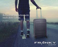 Reisen ist die Sehnsucht nach dem Leben. #leder #meid #ledermeid #gießen #giessen #koffer #reise #reisen #trolley