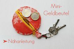 Seemannsgarn • handmade: Mini-Geldbeutel • Nähanleitung