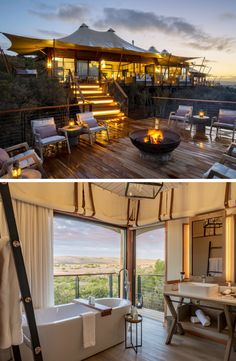 Keen for a braai with a view of the bushveld? Or just a lovely bath while marvelling at a beautiful view? You can do both at Shamwari Sindile! Game Lodge, Nail Games, Lodges, Morocco, Wedding Styles, Outdoor Decor, Sands, Beautiful, Bathroom