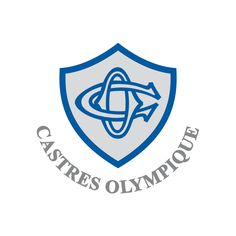 Castres Olympique, TOP 14 2012 french rugby team Top 14, French Rugby Union, Rugby Cup, French League, Rugby Championship, Rugby Sport, Team Mascots, Sports Clubs, Sports Logos