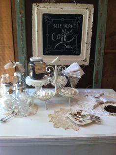 A dear friend's cute Coffee Bar at her wedding!