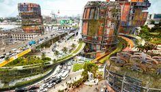 Urban Vertical Theme Park Reduces Environmental Impact | Inhabitat - Green Design, Innovation, Architecture, Green Building
