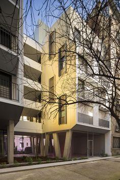 Социальный жилой дом на Пассаж-дю-Мелен © Sergio Grazia