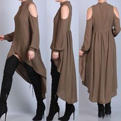 Stylish Dresses, Stylish Outfits, Cool Outfits, Dress Outfits, Fashion Dresses, Islamic Clothing, Mode Hijab, Complete Outfits, Dress Patterns