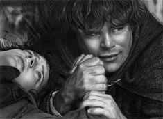 Josi Fabri  As an avid fan of The Lord of the Rings, Brazilian artist Josi Fabri created fantastic fan art of this novel.