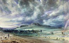 John Constable - Old Sarum (1829)