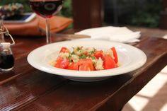 Salata de Rosii Casa del Sole Bruschetta, Pizza, Ethnic Recipes, Food, Home, Salads, Essen, Yemek, Meals