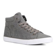 Lugz King Men's High Top Sneakers, Size: 10.5 D, Grey Other